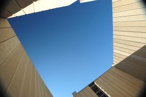 Kennedy Memorial - sky