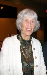 Ruth Paine at the museum opening in 2013