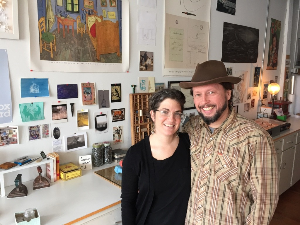 Tish Brewer & David Page from the Center for Art Conservation