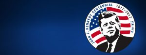 John F. Kennedy Centennial logo - 1917-1963