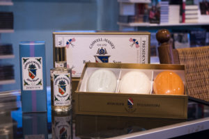 Caswell-Massey Jockey Club Aftershave and Presidential Bath Soap was a favorite of President Kennedy.