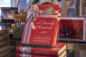 "Caroline Kennedy provides an exclusive look into Christmas with the Kennedy family in her book: ""A Family Christmas."""