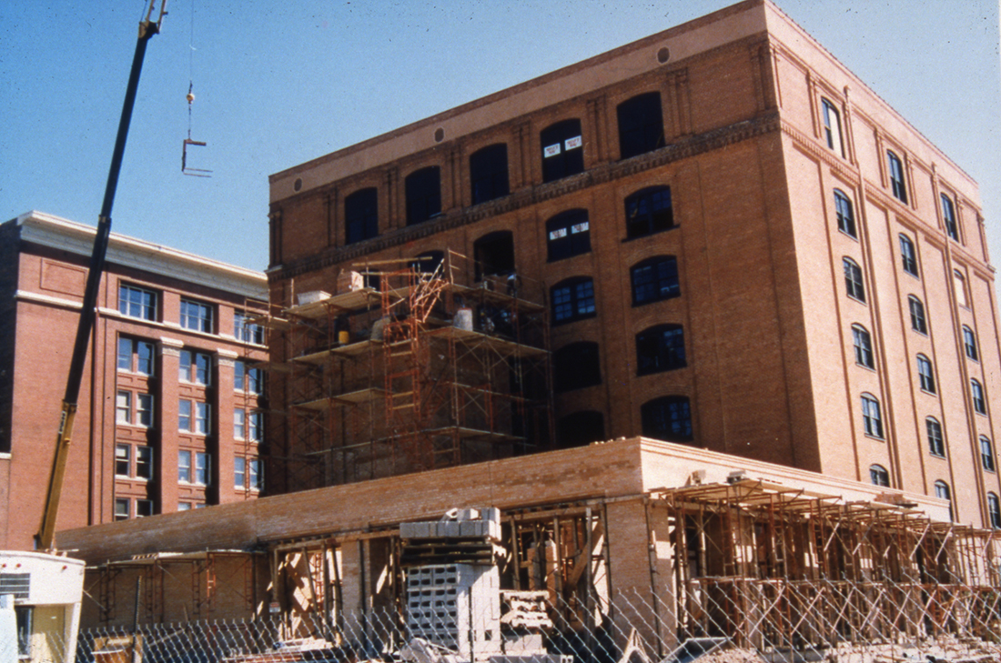 History Of The Texas School Book Depository Building The Sixth