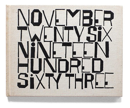 The cover of November Twenty Six Nineteen Hundred Sixty Three by Wendell Berry and illustrated by Ben Shahn