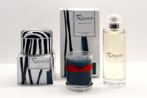 Rigaud candles in Jackie's favorite scent, Cypres