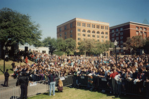 Dealey Plaza becomes a National Historic Landmark District, 1993