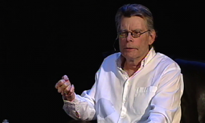 "Stephen King spoke in Dallas in 2013 as he launched his book, ""11/22/63."""